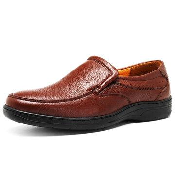 Chaussures de Loisir Homme en Cuir de Vache à Enfiler
