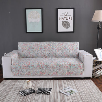 Colorful Flower Pattern Pet Sofa Furniture Protector Mat