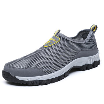 Men Mesh Non-slip Wear-resistant Sneakers