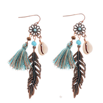 Ethnic Ear Drop Earrings
