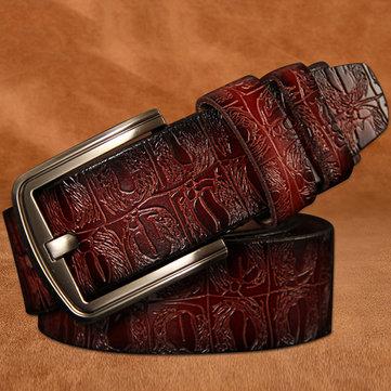 125 सेमी पुरुष Cowhide चमड़े के बेल्ट