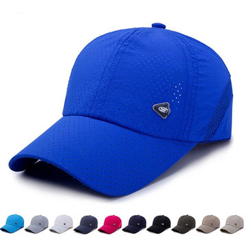 Summer Breathable Adjustable Mesh Baseball Cap