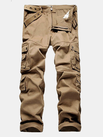 455a9581e Charmkpr Causal Multi-pocket Outdoor Pants