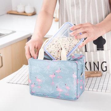 Women Lunchbox Print Storage Bags Cute Handbags