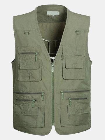 Veste avec multi-poches pour homme