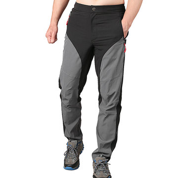 Mens Spring Summer Outdoor Quick-drying Water Repellent Thin Climbing Sport Pants