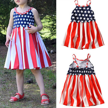 acd175e1f2b Girls Printed Strap Pleated Dress. + QUICK VIEW. US 20.05