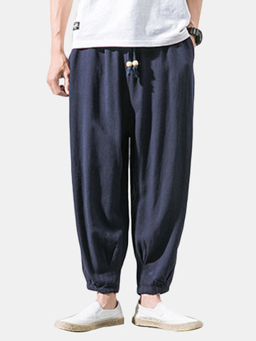 Thin Linen Breathable Casual Harem Pants