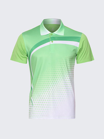 Quick Drying Badminton Competitions Training Golf Shirt