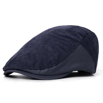 Berretto da uomo con berretto a righe 6486dd880144