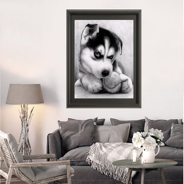 Cute Dog DIY Diamond Painting Cross Stitch
