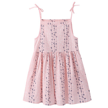 Girls Strap Casual Dress 2Y-11Y