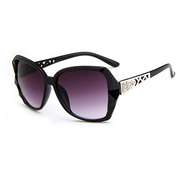 Casual Large Frog Frame Sunglasses
