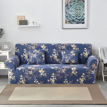 Royal Flower Seater Home Soft Elastic Sofa Cover