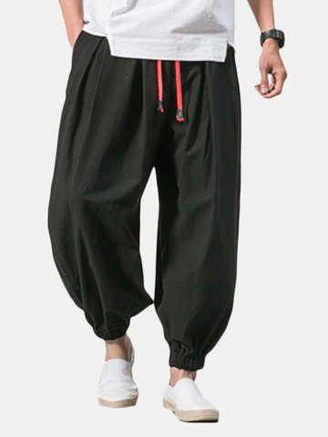 Baggy Loose Cotton Harem Pants