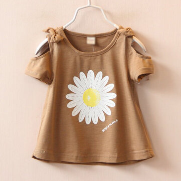 Daisy Impresso Toddler Girls Summer Tops