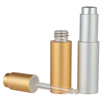 20 ML Refillable Bottle, Silver gold