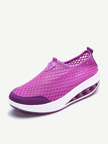 Mesh Breathable Casual Sport Shake Shoes