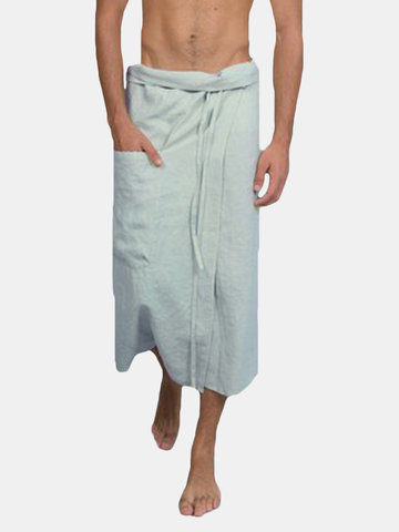 Men's Cotton Adjustable Pocket Strap Culottes