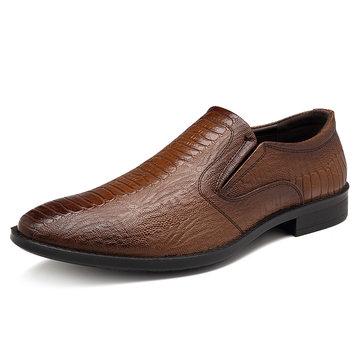 Herren Leder Casual Formelle Business Schuhe