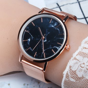 Trendy Marble Women Watch