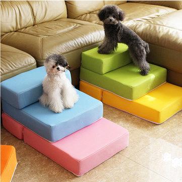 Escaleras plegables para mascotas de dos pasos para gatos