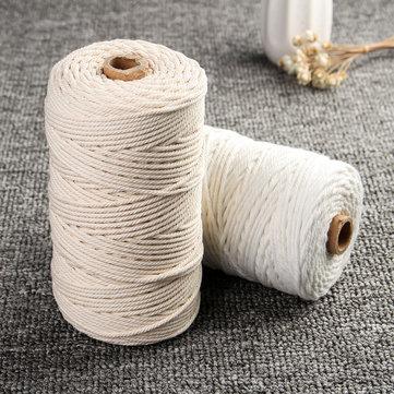 Cuerda de algodón macramé de 3 mm 200 m