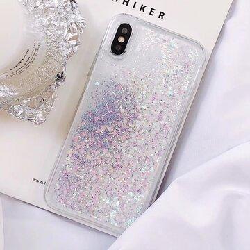 Vogue Bling Glitter Sparkle Stars Quicksand TPU Phone Case