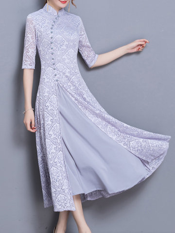 Lace Chinese Style Dresses