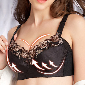 Cotton Breathable Adjustable Side Support Bra