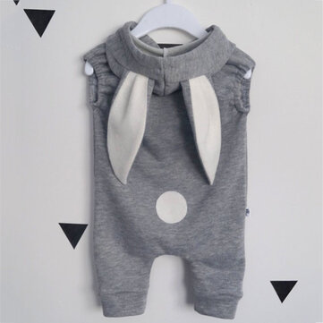 Baby Bunny Ear Sommer Jumpsuit Für 0-18M