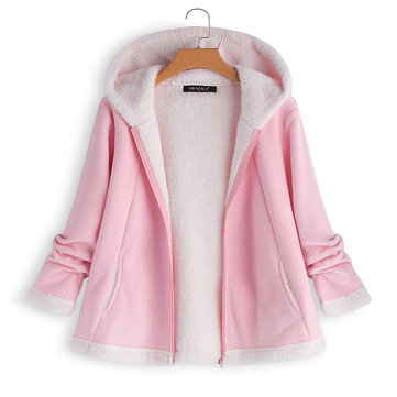 Girls Warm Fleece Coats For 3Y-14Y