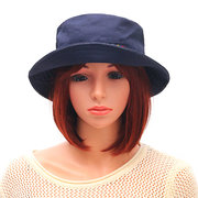 e1a6af70ddb75 Women Simple Embroidery Fishing Bucket Hat Casual Sunshade Breathable Cap