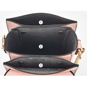 2ed94d8f2cd Stylish Girl PU Leather Flap Phone Bag Chain Shoulder Bag Crossbody Bags  For Women