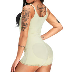 5a0189f89 Plus Size Bodysuits Latex Hip Lifting Open Crotch S Curves Shapewear For Postpartum  Slimming Sports