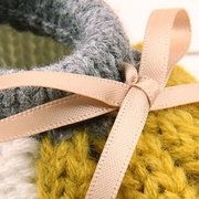 4b45f1b3adc2 Bowknot Decor Knitted Unisex Baby Shoes For 3-18M On Sale - NewChic