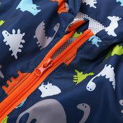 6862e2741 Dinosaur Spring Boy Coats Kids Jacket Outerwear Windbreaker For 2Y ...
