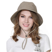 c5f35441138 Men Women Polyester Solid Stripes Special Sunscreen Breathable Design  Fisherman Hat